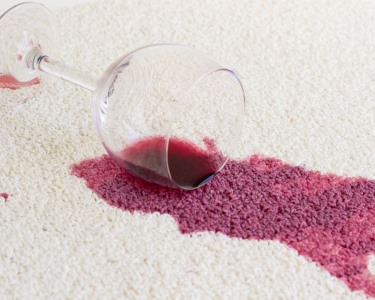 Carpet stain removal by Continental Carpet Care, Inc.