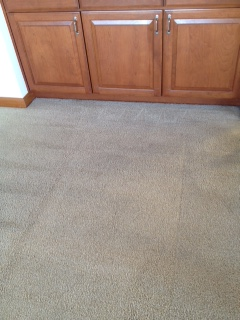 Before & After Carpet Cleaning in Yarrow Point by Continental Carpet Care, Inc.